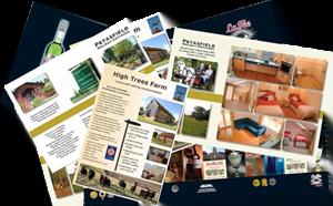 Brosjyrer og kataloger
