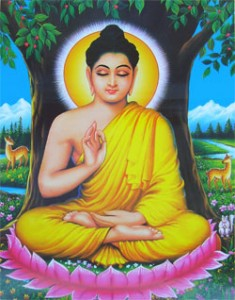 <b>Buddhas åtteleddede vei (middelveien)</b>