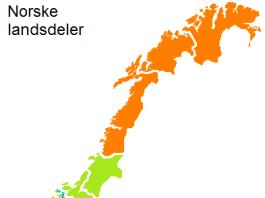 norge-landsdeler