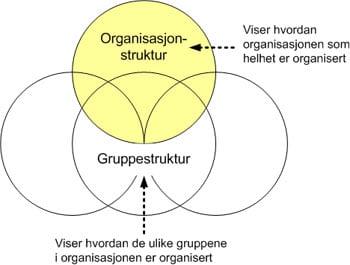 Organisasjon og gruppestruktur
