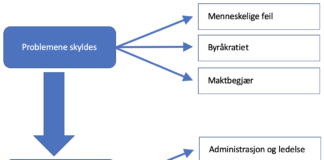 Årsak og løsning av organisatoriske problem