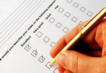 Utforming av postale spørreskjema
